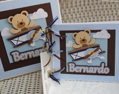 Caixa + Livro Ursinho Aviador 25,5x21,0