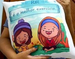 Almofada Rir � o melhor Exerc�cio
