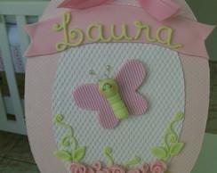 Enfeite Maternidade rosa