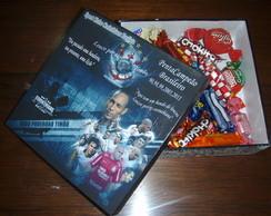 Caxia MDF personalizada c/ times futebol