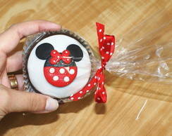 P�o De Mel Decorado - Festa Minnie
