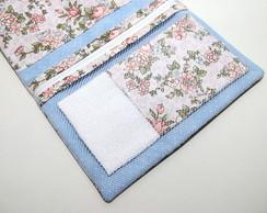 Kit Porta higiene ou Maquiagem floral