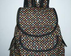 mochila po�-colorido (esgotada)