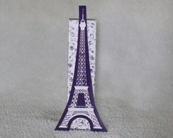 Caixa Torre Eiffel lil�s