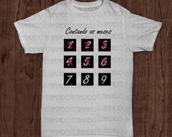Camiseta Gestante - Contando os Meses