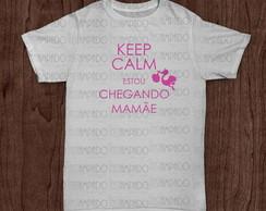 Camiseta - Keep Calm Beb� - menina