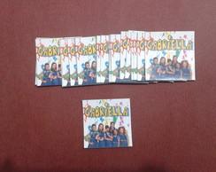 Etiqueta Chiquititas - quadrada 5 x 5
