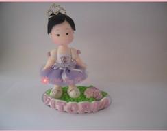 Topo de bolo,princesa sofia,biscuit