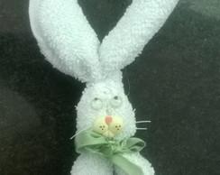 Coelhinho feito de toalha de lavabo
