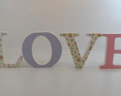 LOVE - Letras 15cm