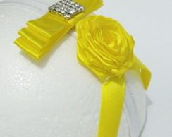 Fascinator Princess amarela