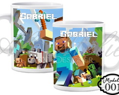 Canecas Personalizadas Minecraft
