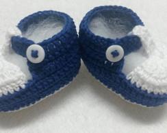 sapatinho de croche para bebe
