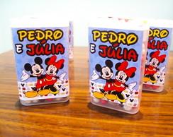 Balas de Chocolate Personalizada- Mickey