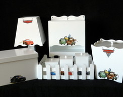 KIT BEB� CARROS - 8 PE�AS