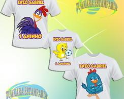 Kit Camiseta - Galinha Pintadinha
