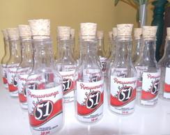 Garrafinha 50ml para Festa Boteco 51