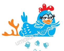 adesivo geladeira galinha pintadinha 3
