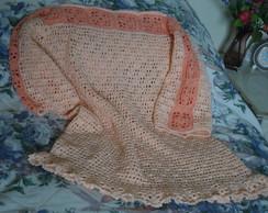 Blusa de Croch� em linha