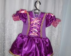 Fantasia Rapunzel saia curta