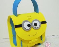 mini mochilinha minions