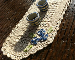Tapete ou centro de mesa em croch�