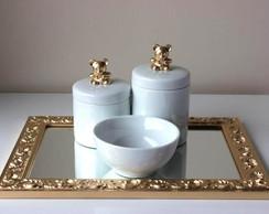 Kit Higiene Ursinho Dourado 2