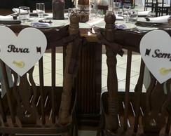 Placas para Cadeiras