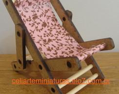 Miniatura Cadeira de Praia