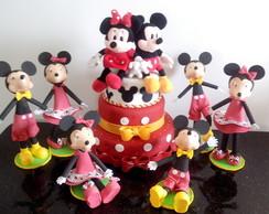Bonecos em EVA Mickey e Minney