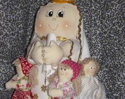 Nossa Senhora de F�tima com pastorinhos