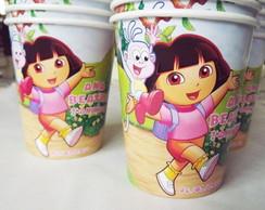 Copos Vintage Dora Aventureira 8 un