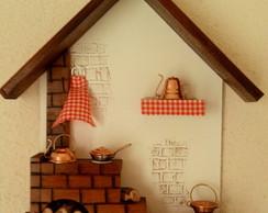 Cozinha mineira, Porta-chaves Bege