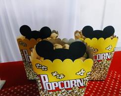 Caixa de pipoca Mickey