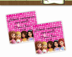 Lacre para Envelope Lego Friends