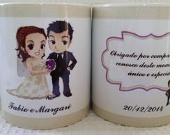 Caneca Personalizada Para Casamento
