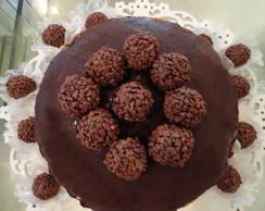Naked Cake de Brigadeiro