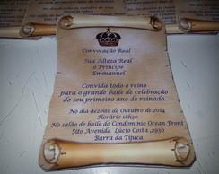 Convites Pergaminho