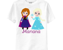 Camiseta Infantil Personalizada Frozen A