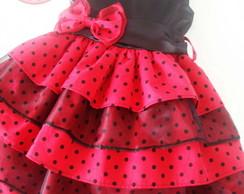 Vestido Tema Joaninha 2