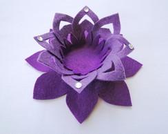 Kit Flor de L�tus Decora��o Festa Violet