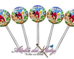 """Toppers Para Docinhos - """"Angry Birds"""""""