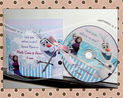 CD ou DVD Personalizado Frozen