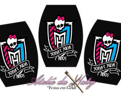 Adesivo p/ Esmalte - Monster High