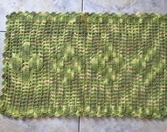 Tapetinho de barbante (barroco verde)