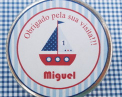 Latinha Personalizada Barquinho