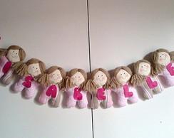Porta de Maternidade bonecas