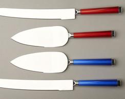 Modelo Conjunto Color espatula e faca