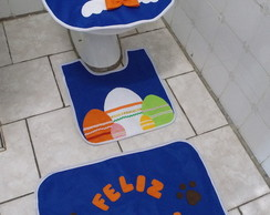 Jogo De Banheiro P�scoa Em Feltro