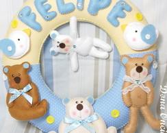 Guirlanda Porta Maternidade Ursinhos